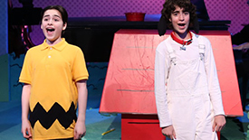 Dynamic Duo: Charlie Brown & Snoopy, Joshua Colley & Aidan Gemme, Talk Laughs, Mishaps, & Cynthia Erivo Love
