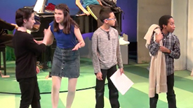Hot Clip of the Day: First Look at York Theatre's Young You're A Good Man, Charlie Brown