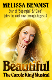 Poster for Beautiful:  The Carole King Musical