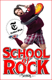 Poster for School of Rock - The Musical