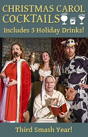The Imbible: Christmas Carol Cocktails Discount Tickets - Off Broadway   Save up to 50% Off