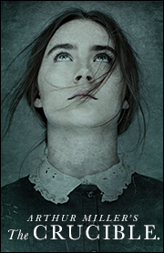 Poster for Arthur Miller's The Crucible.