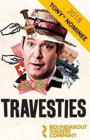 Poster for Travesties