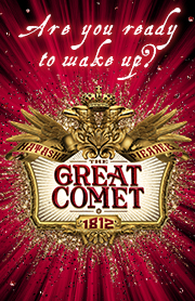 Poster for Natasha, Pierre & The Great Comet of 1812