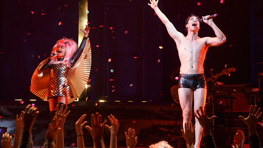 DarrenIsHedwig - Reviews and Comments from the Media (and from members of the media) about Darren in Hedwig and the Angry Inch on Broadway Darren--Tommy