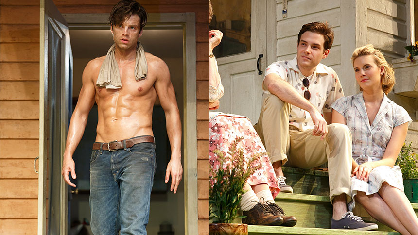 five sexiest hunks who turned up the heat on broadway in