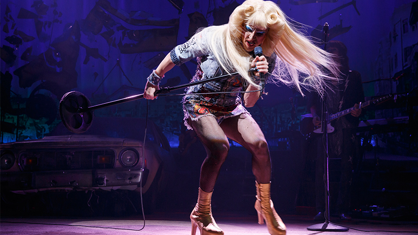 DarrenIsHedwig - Reviews and Comments from the Media (and from members of the media) about Darren in Hedwig and the Angry Inch on Broadway Rockstar