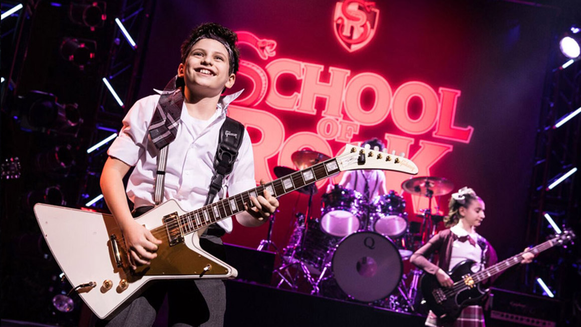 Image result for school of rock broadway
