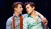 Christian Borle as Marvin & Andrew Rannells as Whizzer in 'Falsettos'