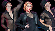 Rumer Willis as Roxie Hart with Denny Paschall and Michael Scirrotto in 'Chicago'