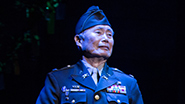 George Takei as Sam Kimura and Lea Salonga as Kei in  'Allegiance'