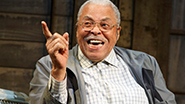 James Earl Jones as Weller Martin in 'The Gin Game'
