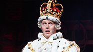 Jonathan Groff as King George in 'Hamilton'
