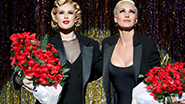 Rumer Willis as Roxie Hart and Amra-Faye Wright as Velma Kelly in 'Chicago'