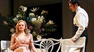 Elisabeth Moss as Heidi Holland & Jason Biggs as Scoop Rosenbaum in 'The Heidi Chronicles'