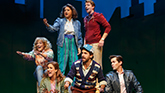 The company of Broadway's 'Falsettos'