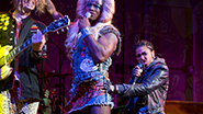 Taye Diggs as Hedwig and Rebecca Naomi Jones as Yitzhak in 'Hedwig and the Angry Inch'