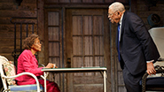 Cicely Tyson as Fonsia Dorsey and James Earl Jones as Weller Martin in 'The Gin Game'