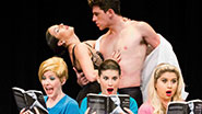 A scene from off-Broadway's 50 Shades! The Musical.