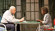 James Earl Jones as Weller Martin and Cicely Tyson as Fonsia Dorsey in 'The Gin Game'