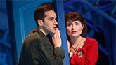 Adam Chanler-Berat as Nino and Phillipa Soo as Amelie in Amelie the Musical.