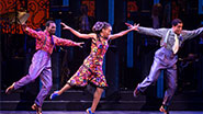 Daniel J. Watts, Dormeshia Sumbry-Edward and Phillip Attmore in After Midnight.