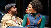 Andre Holland and Carra Patterson in Jitney on Broadway