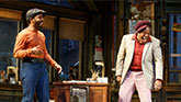 Andrew Holland and Ray Anthony Thomas in Jitney on Broadway