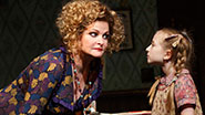 Faith Prince and Emily Rosenfeld in Annie.