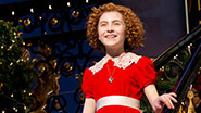 Lilla Crawford in Annie.