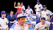 The cast of Broadway's 'Bronx Bombers'