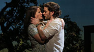 Kelli O'Hara as Francesca Johnson and Steven Pasquale as Robert Kincaid in 'The Bridges of Madison County'