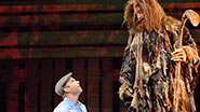 Norbert Leo Butz and Ryan Andes in Big Fish.