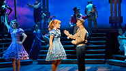 Kate Baldwin and Norbert Leo Butz in Big Fish.
