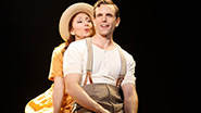Carmen Cusack as Alice and Paul Alexander Nolan as Jimmy Ray Dobbs in Bright Star