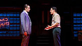 "Nick Cordero as  Sonny and Richard H. Blake as Lorenzo in "" A Bronx Tale"""