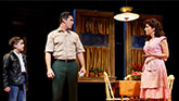 """Hudson Loverro as Young Calogero, Richard H. Blake as Lorenzo and Lucia Giannetta as Rosina in """" A Bronx Tale"""""""