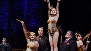 The company of 'Bullets Over Broadway.'