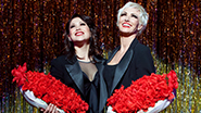 Bianca Marroquin as Roxie Hart and Amra-Faye Wright as Velma Kelly in Chicago