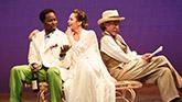 Harold Perrineau as Lopakhin, Diane Lane as Lyubov Ranevskaya and John Glover as Gaev in 'The Cherry Orchard'