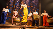 Cynthia Erivo as Celie and cast in The Color Purple
