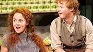 Sarah Greene and Conor MacNeill in 'The Cripple of Inishmaan.'