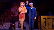 Mara Davi as Joan and Danny Gardner as Lucky in Dames At Sea