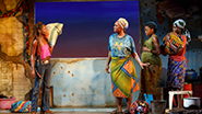 Zainab Jah as Miami, Saycon Sengbloh as Helena, Pascale Armand as Bessie and Lupita Nyong'o as The Girl in Eclipsed