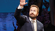 Alfie Boe as J.M. Barrie in Finding Neverland