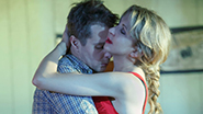 Sam Rockwell as Eddie and Nina Arianda as May in 'Fool For Love'