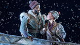 "Jelani Alladin as Kristoff & Patti Murin as Anna in ""Frozen'"