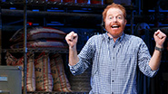 Jesse Tyler Ferguson as Sam in Fully Committed