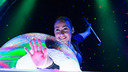 Melody Yang in the Gazillion Bubble Show