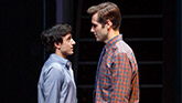Gideon Glick as Jordan and John Behlmann as Will in Significant Other